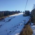 Park pa še brez snega