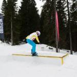 Eva boardslide