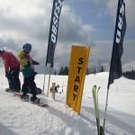 Priprave na slalom